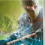Safety window tinting film - stop burglars