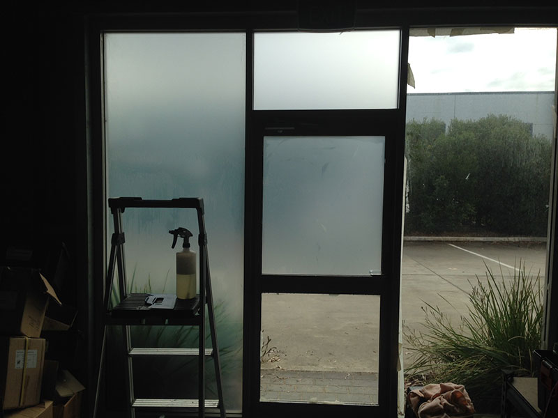 Newcastle Window Tinting - office privacy tinting